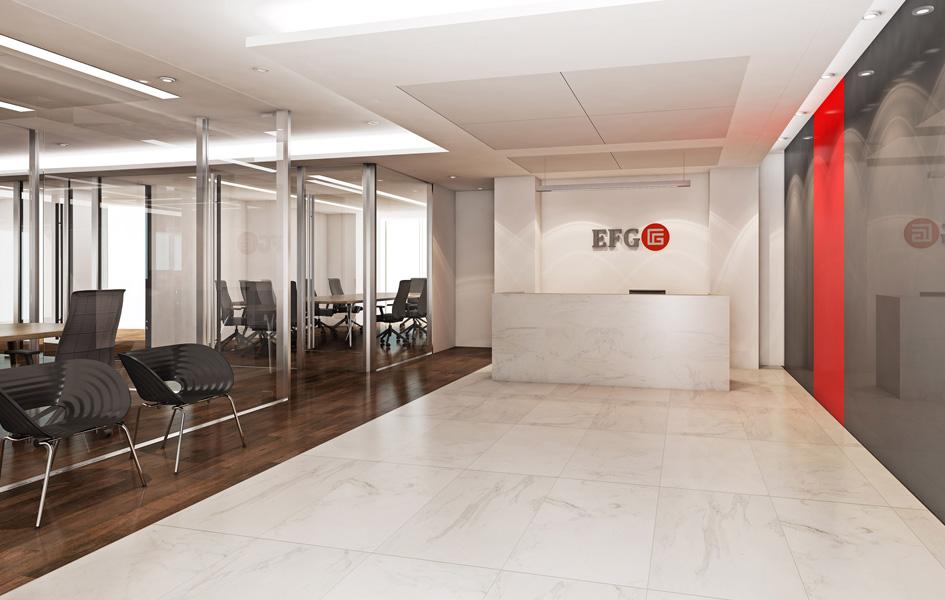 armas elton arquitectos oficinas banco efg